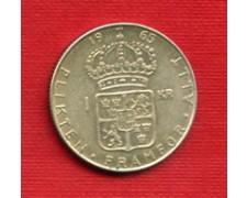1965 - LOTTO/M20769 - SVEZIA - 1 KORONA ARGENTO