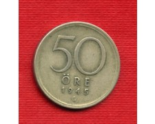 1945 - LOTTO/M20771 - SVEZIA - 50 ORE ARGENTO
