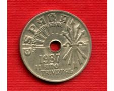1937 - LOTTO/M21177 - SPAGNA - 25 CENTIMOS