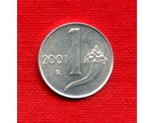 2001 - LOTTO/M21503 - REPUBBLICA -  1 LIRA CORNUCOPIA