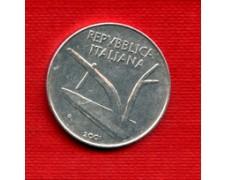 2001 - LOTTO/M21506 - REPUBBLICA - 10 LIRE SPIGHE