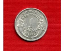 1958 - LOTTO/M21829 - FRANCIA - 1 FRANCO CORNUCOPIA