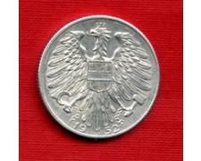 1952 - LOTTO/M21617 - AUSTRIA - 5 SCELLINI ALLUMINIO