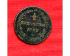 1783 - LOTTO/M21647 - AUSTRIA - 1/2 KREUZER
