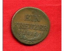 1816 - LOTTO/M21650 - AUSTRIA - 1 KREUZER ZECCA S