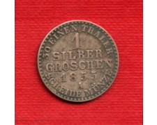 1855A - GERMANIA PRUSSIA - LOTTO/M21677 - 1 SILBER GROSCHEN ARGENTO