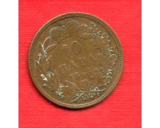 1868 - LOTTO/M21685 - SERBIA - 10 PARA  MICHELE III°