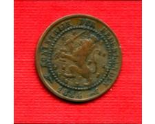 1884 - LOTTO/M21687 - OLANDA - 1  CENTESIMO   STEMMA