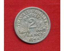 1944 - LOTTO/M21775 - FRANCIA - 2 FRANCHI DOPPIA ASCIA