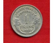 1947 - LOTTO/M21780 - FRANCIA - 1 FRANCO CORNUCOPIA