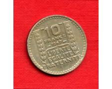 1947 - LOTTO/M21782 - FRANCIA - 10  FRANCHI MARIANNA