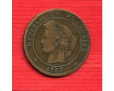 1883A - LOTTO/M21785 - FRANCIA - 10 CENTESIMI  CERERE