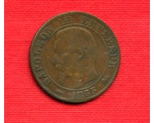 1855 D - LOTTO/M21788 - FRANCIA - 5 CENTESIMI NAPOLEONE