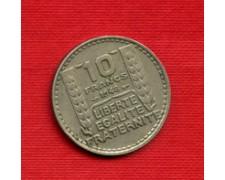1948 - LOTTO/M21792 - FRANCIA - 10 FRANCHI MARIANNA