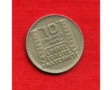 1949 - LOTTO/M21795 - FRANCIA - 10 FRANCHI MARIANNA