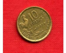 1950 - LOTTO/M21816 - FRANCIA - 10 FRANCHI GALLETTO