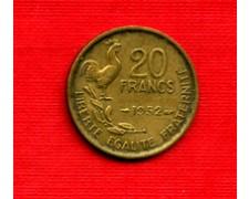 1952 - LOTTO/M21818 - FRANCIA - 20 FRANCHI GALLETTO 4 PIUME