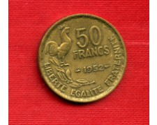 1952 - LOTTO/M21820 - FRANCIA - 50 FRANCHI GALLETTO