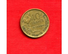 1953 - LOTTO/M21821 - FRANCIA - 10 FRANCHI GALLETTO