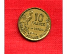 1958 - LOTTO/M21828 - FRANCIA - 10 FRANCHI GALLETTO