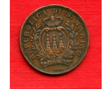 1893 - LOTTO/M22454 - SAN MARINO - 10 CENTESIMI