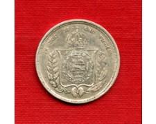 1864 - LOTTO/M22457 - BRASILE - 500 REIS ARGENTO