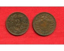 1898 - LOTTO/M22478 - SVIZZERA - 2 RAPPEN
