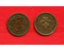 1883 - LOTTO/M22481 - SVIZZERA - 2 RAPPEN
