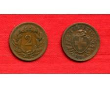 1886 - LOTTO/M22482 - SVIZZERA - 2 RAPPEN