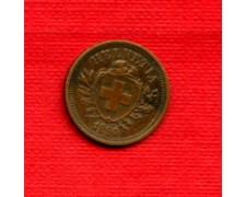 1890 - LOTTO/M22500 - SVIZZERA  1 RAPPEN