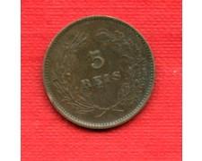 1892 - LOTTO/M22549 - PORTOGALLO - 5 REIS  CARLO I°