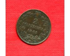 1861 M - LOTTO/M22585 - REGNO - 2 CENTESIMI VITT. EMANUELE II°