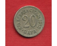1912 - SERBIA - LOTTO/M22595 -20 PARA