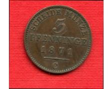 1871 C - PRUSSIA - LOTTO/M22597 - 3 PFENNING