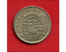 1952 - INDIA PORTOGHESE - LOTTO/M23052 - 1 RUPIA