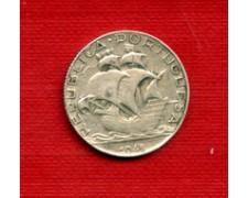 1948 - LOTTO/23067 - PORTOGALLO - 2,5 ESCUDOS ARGENTO