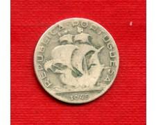 1945 - LOTTO/23068 - PORTOGALLO - 2,5 ESCUDOS ARGENTO