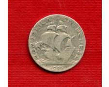 1946 - LOTTO/23069 - PORTOGALLO - 2,5 ESCUDOS ARGENTO