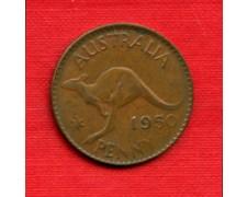 1950 - AUSTRALIA - LOTTO/M23075 - 1 PENNY  RE GIORGIO VI°