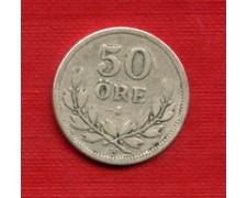 1911 - LOTTO/M23078 - SVEZIA - 50 ORE ARGENTO