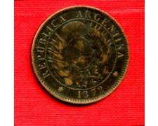 1892 - LOTTO/M23092 - ARGENTINA - 2 CENTAVOS REPUBBLICA