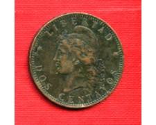 1893 - LOTTO/M23093 - ARGENTINA - 2 CENTAVOS REPUBBLICA
