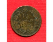 1866 - LOTTO/M23099 - ITALIA REGNO - 10 CENTESIMI  TORINO