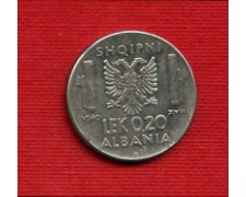 1940 - LOTTO/M23102 - ALBANIA ITALIANA - 0,20 LEK