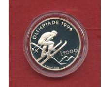 1994 - LOTTO/23130 - SAN MARINO - 1000 LIRE OLIMPIADI LILLEHAMMER