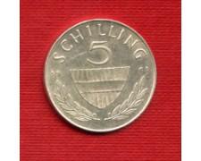 1961 - LOTTO/M23227 - AUSTRIA - 5 SCELLINI ARGENTO