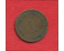 1888A - LOTTO/M23232 - GERMANIA - 1 PFENNIG IMPERO