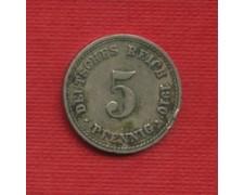1910A - LOTTO/M23236 - GERMANIA  - 5 PFENNIG IMPERO