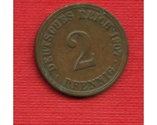 1907A - LOTTO/M23245 - GERMANIA - 2 PFENNIG IMPERO