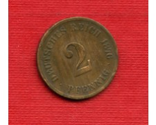 1876C - LOTTO/M23246 - GERMANIA - 2 PFENNIG IMPERO